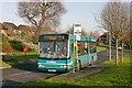 TQ9386 : Arriva bus in Ravendale Way, Shoeburyness by David Kemp