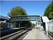 TQ2262 : Ewell East station by Marathon