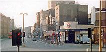TQ3279 : Borough Underground Station entrance, 1982 by Ben Brooksbank