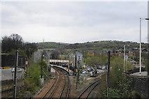 SE1437 : Railway junction at Shipley by Bill Boaden