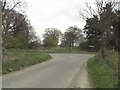 TG1335 : East end of Northfield Lane by Adrian S Pye