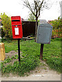 TM4291 : Northgate Postbox & Royal Mail Dump Box by Adrian Cable