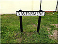 TM4291 : Ravensmere sign by Geographer