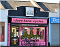 J3873 : Giro d'Italia bicycle shop, Ballyhackamore, Belfast - April 2014(2) by Albert Bridge