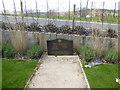 TQ3408 : Memorial Garden by Amex Stadium by Paul Gillett