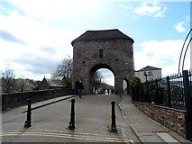 SO5012 : Monnow Bridge, Monmouth by Bikeboy