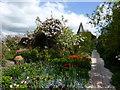 TQ4206 : Monk's House garden by PAUL FARMER