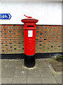 TM4290 : Old Market Edward VII Postbox by Adrian Cable