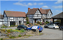 SO3958 : Good Friday and Good Business at the New Inn by Philip Pankhurst