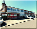 SM9415 : Fire service HQ in Haverfordwest by Jaggery
