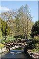 SU8512 : River Lavant, West Dean Gardens by Ian Capper