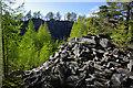 NY3102 : Moss Rigg Quarry by Ian Taylor