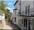 SO7745 : A deli and a bookshop in Malvern by Jaggery