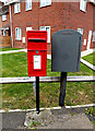 TM4389 : Banham Road Postbox & Dump Box by Adrian Cable
