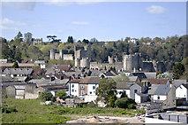 ST5394 : Chepstow Castle by Stuart Wilding