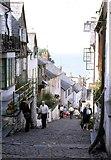 SS3124 : Main Street, Clovelly, Devon by Derek Voller
