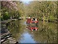 SD5810 : Narrowboat on the Leeds and Liverpool Canal by David Dixon