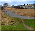 ST1874 : Path through Cardiff Bay Wetlands Reserve by Jaggery
