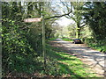 ST9397 : Path to Rodmarton Barrow 1-Glos by Martin Richard Phelan