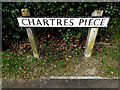 TM4384 : Chartres Piece sign by Adrian Cable