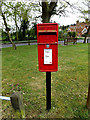 TM4384 : Chartres Piece Postbox by Adrian Cable