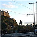 NT2573 : Royal Scots Greys Statue by John Myers