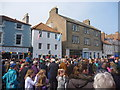 NT6779 : John Muir Festival Dunbar 2014 : Waiting For Speeches by Richard West