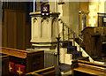 TQ8790 : St Andrew, Rochford - Pulpit by John Salmon