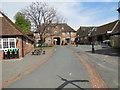 TQ8353 : Courtyard at Leeds Castle by Paul Gillett