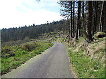 J0524 : Approaching the hair-pin bend in the Forest Road by Eric Jones
