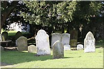SU6462 : Headstones near the church by Bill Nicholls