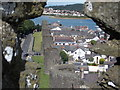 SH7777 : Conwy: western town wall by Chris Downer