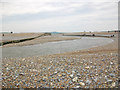 TV5197 : New mouth of the River Cuckmere by Andrew Diack
