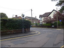 SZ0095 : Junction of Kirkway and Macaulay Road by Basher Eyre