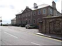 H8745 : The former Armagh City Hospital, Abbey Street, Armagh   by Eric Jones