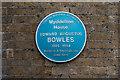 TQ3499 : Blue Plaque, Myddelton House, Enfield by Christine Matthews