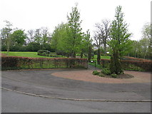 NS4762 : Ornamental gardens beside Brodie Park, Paisley by G Laird