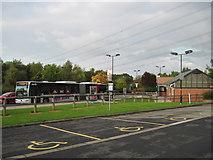 SE6451 : Park  and  Ride  bus  at  Grimston  Bar  Car  Park by Martin Dawes