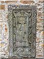 NO4900 : Tombstone in wall of Elie Parish Church by William Starkey
