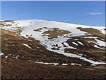NO0476 : Moorland north of Glas Tulaichean by William Starkey