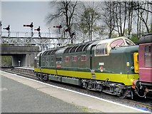 SD8010 : Deltic D9009 at Bolton Street Station by David Dixon