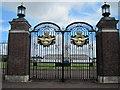 SK9949 : Gates  to  RAF  College  Cranwell by Martin Dawes