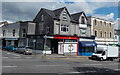 SS6392 : Two barber shops on a corner in Uplands, Swansea by Jaggery