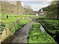 SE2768 : River Skell at Fountains Abbey by Derek Harper