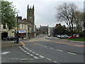 SD7933 : Downtown Padiham by Chris Heaton