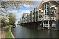 TQ2482 : Canalside Apartments by Des Blenkinsopp