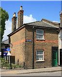 TQ2182 : Council of Acton Railway Cottages by Des Blenkinsopp