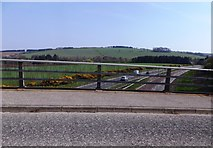 NO8587 : A957 road bridge out of Stonehaven near Redcloak by Stanley Howe