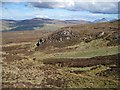 NG3432 : North east slopes of Arnaval by Richard Dorrell