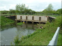 SP7257 : Aqueduct, Grand Junction Canal - Northampton Arm by Mr Biz
